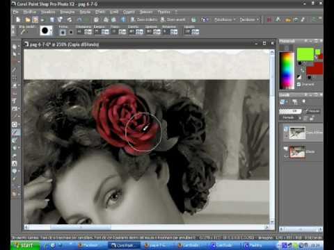 corel paint shop pro tutorial italiano