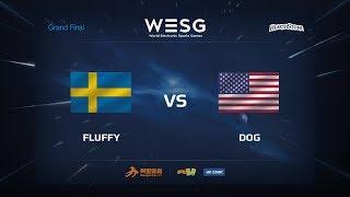 Dog vs Fluffy, game 1