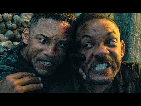 GEMINI MAN - Catacomb Fight Extended Scene - 10 Minutes From The Movie (2019)