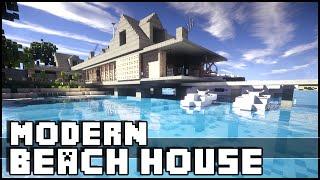 Minecraft - Modern Beach House & Yacht!