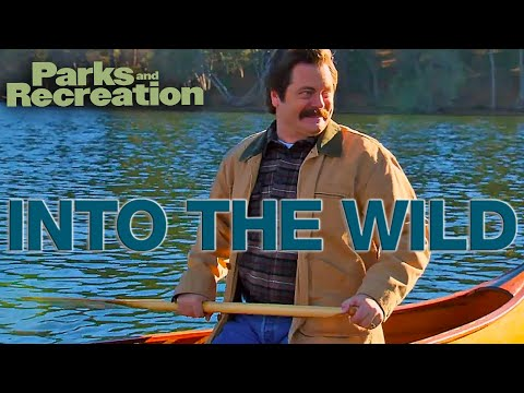 Into The Wild With RON SWANSON | Parks and Recreation | Comedy Bites