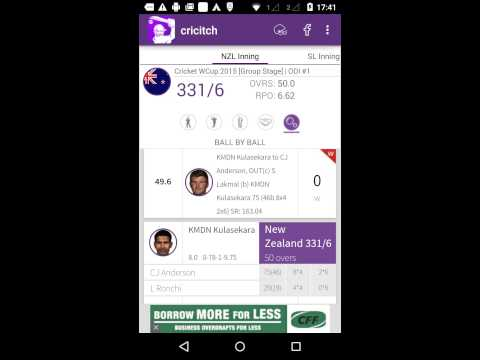 Video of LIVE cricket Scores - cricitch