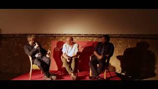 Andrea Magnani e Nicola Nocella intervistati da Boris Sollazzo all'Ischia Film Festival 2018