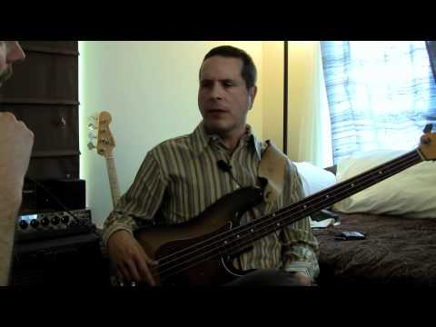 Juan Alderete talks about his musical inspiration and how he uses sounds and effects.