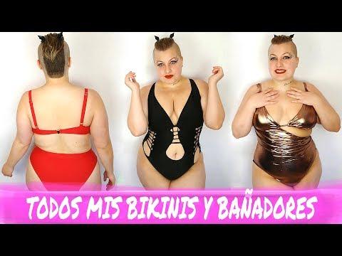 Videos de uñas - TODOS MIS BIKINIS Y BAÑADORES DE TALLAS GRANDES