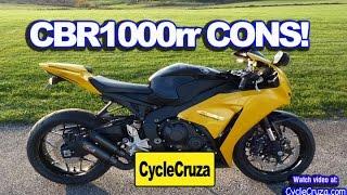 9. Bad Stuff About Honda CBR1000rr FireBlade
