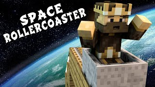 Minecraft Maps - SPACE ROLLERCOASTER (Travel Through Space!)