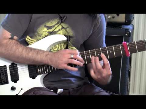 Tapping Through Scales - Badass Guitar Tips Ep 15