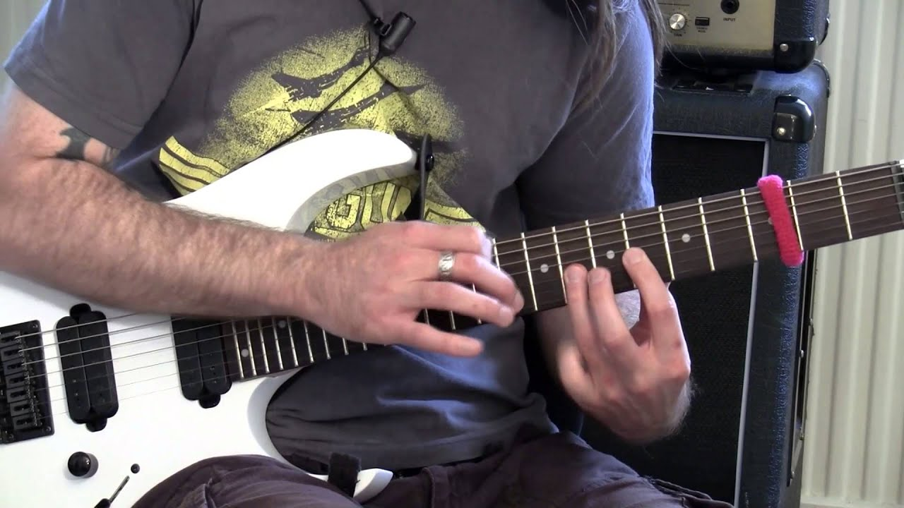 Tapping Through Scales – Badass Guitar Tips Ep 15