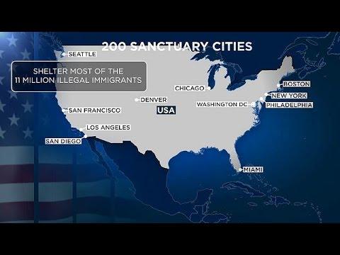 Πόλεμο στις «πόλεις – καταφύγια» κήρυξε ο Τραμπ