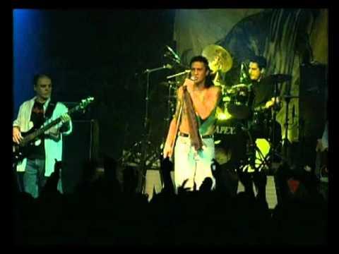 Germán Burgos video Jaque al Rey - En vivo 2000