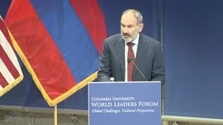 Nikol Pashinyan's Speech at the Columbia University
