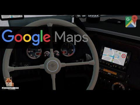 ETS 2 - Google Maps Navigation 1.28.x