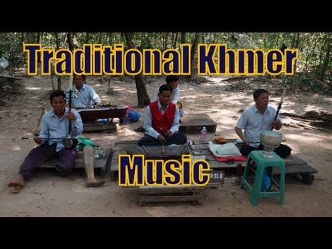 Land Mine Victims playing Khmer Traditional Folk Music at Angkor Wat