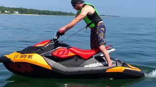 3. New Trixx?! Testing the 2018 Sea Doo Spark Trixx