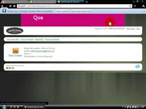 streaming grátis com auto Dj  www.webradiogratis.com