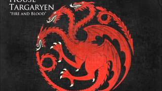 Soundtrack house Targaryen from Game of Thrones HBO composed by Ramin Djawadi: -To Vaes Dothrak -When The Sun Rises In The West -Love In The Eyes -Mother Of ...