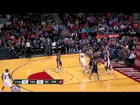 Utah Jazz – Portland Trail Blazers: Team Work