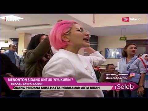 Teriaki Kriss Hatta di Persidangan, Nikita Mirzani: Gimana Kriss di Penjara? - iSeleb 25/04