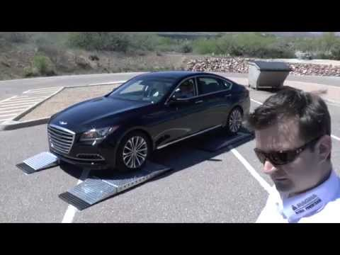 2015 Hyundai Genesis Launch, On The Road