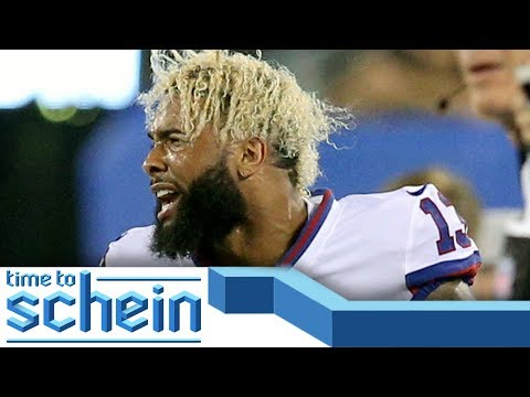 Video: Odell Beckham Jr. NEEDS to move on from the Giants and Ezekiel Elliott SHOULD train | Time to Schein