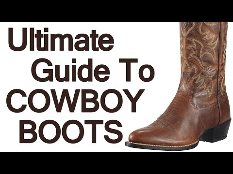 How To Wear Cowboy Boots | Ultimate Guide To The Western Boot | Roper Stockman Buckaroo Boot Video