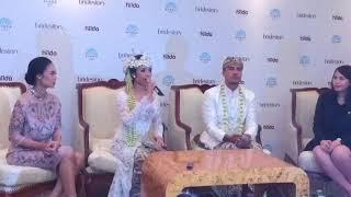 Raisa dan Hamish Daud Berbagi Cerita tentang Pernikahan Mereka