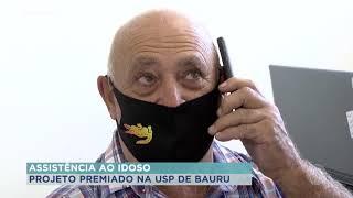 Projeto de assistência a idosos com deficiência da USP é premiado
