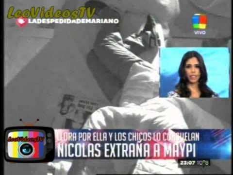 Nicolas extraña y lloro por Maipi GH 2015 #GH2015 #GranHermano