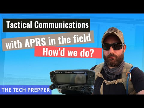 Tactical Communications with APRS in the field - How's we do?