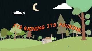 This is a fun song for kids to dance in the rains. Lyrics: It's raining, it's pouring The old man is snoring I want to go and play in rain cause inside its s...