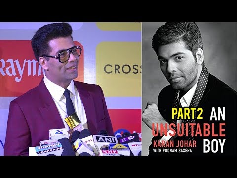 Karan Johar REVEALS About Writing Book An Unsuitab