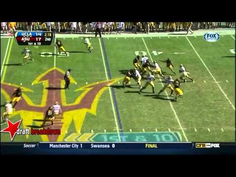 Brett Hundley vs Arizona St. 2012 video.
