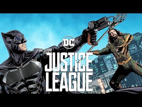 #4 'Justice League' Official Movie-Comic Book from Mercedes-Benz