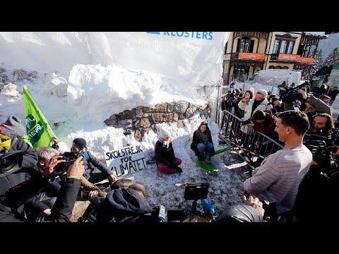 Νταβός: Διαδηλώσεις στο περιθώριο του Παγκόσμιου Οικονομικού Φόρουμ…