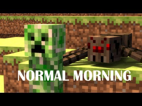 A Normal Morning in Minecraft - Animation