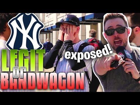 FAKE Yankees Fans Get EXPOSED: LEGIT or BANDWAGON? - Thời lượng: 8 phút và 4 giây.