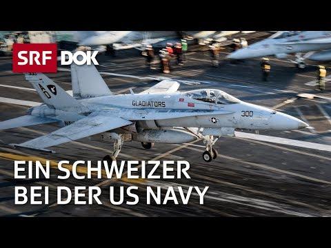 Ein Schweizer auf einem US-Flugzeugträger