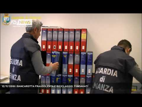 12/11/2019 | BANCAROTTA FRAUDOLENTA E RICICLAGGIO, 7 INDAGATI