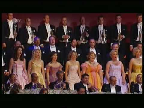Andre Rieu 400 koperblazers Triump Marsch - Near my God to Thee