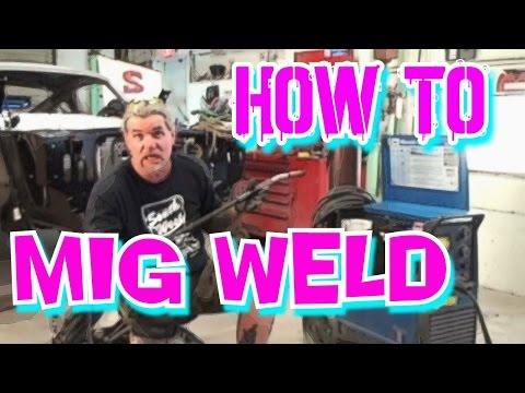 instructions - My Friend Pete takes us through a step by step instructional procedure of what a Mig Welder is, and