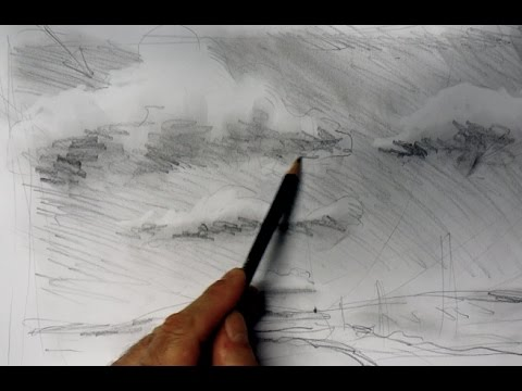 ganz einfach zeichnen lernen 5:  Wolken zeichnen