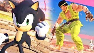 Super Smash Bros. Ultimate: Ryu, Sonic, Lucario, King K. Rool etc