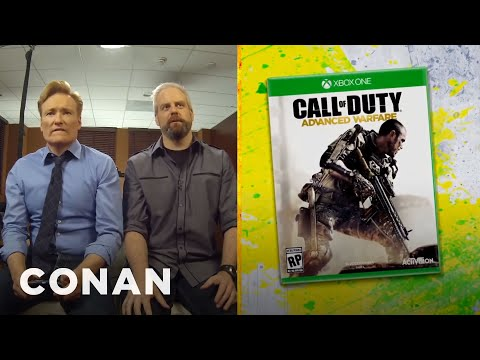 Conan recenzuje hru Call of Duty: Advanced Warfare
