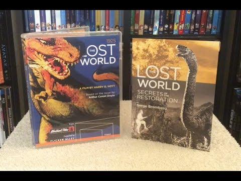 The Lost World: 2K Restoration BLU RAY UNBOXING + Review - Flicker Alley