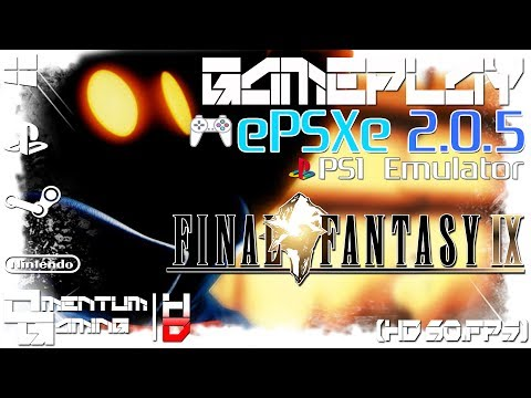Final Fantasy IX - ePSXe 2.0.5 | PS1 Emulator Gameplay | HD.1080p 60ᶠᵖˢ