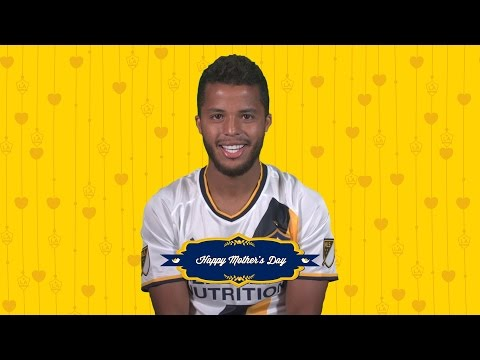 Video: Giovani dos Santos wishes his mom a Happy Mother's Day ahead of Sunday