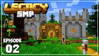 Legacy SMP - Ep. 02 - HOBBIT HOLE...CASTLE?! (Minecraft 1.15 Survival Multiplayer)
