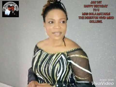 Happy Birthday Mrs Bola Matanmi