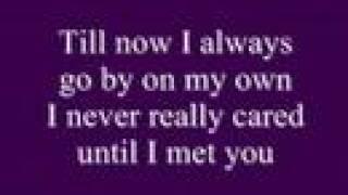 Alone by Celine Dion w/ lyrics